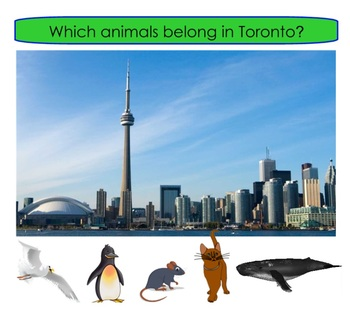 WHICH ANIMAL BELONGS IN CANADA?
