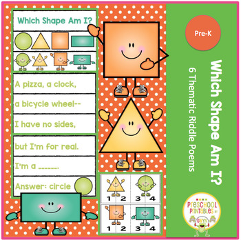 WHICH SHAPE AM I? 6 THEMATIC RIDDLE POEMS