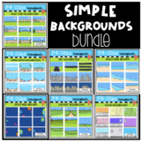 WHILE I DRAW $5 DEAL (Backgrounds) P4 Clips Trioriginals