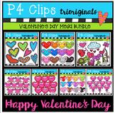 Valentine's MEGA PACK BUNDLE (P4 Clips Trioriginals Clip Art)