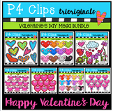 Valentine's MEGA PACK BUNDLE (P4 Clips Trioriginals Clip Art)