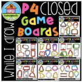 WHILE I DRAW P$ Closed Game Board Bundle (P4 Clips Trioriginals)