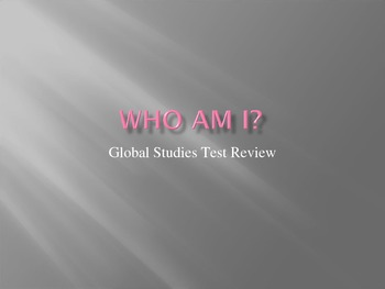 """WHO AM I?"" A review of the continents and oceans"