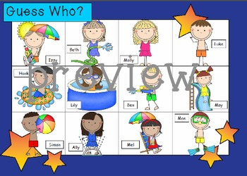 WHO AM I? bundled pack  16 DIFFERENT variations included!