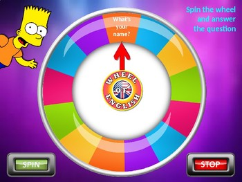 WHO ARE YOU?. SIMPSONS WHEEL FOR DESCRIBING ONESELF. Power Point