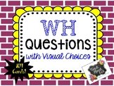 Who Questions with Visual Choices (FREE)