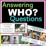 WHO Questions: Autism, Speech, ABA