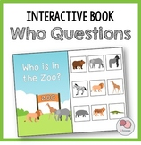 WHO Questions – Interactive WH Question Book