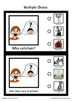 WHO Questions-Multiple Choice