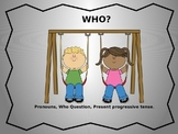 WHO Questions Pronoun Book