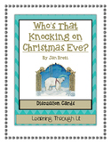 Jan Brett WHO'S THAT KNOCKING ON CHRISTMAS EVE? - Discussion Cards