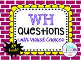 WHO, WHAT, WHERE, WHEN, WHY Questions with Visuals