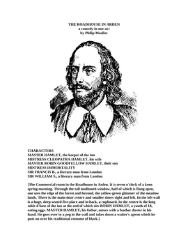 WHO WROTE SHAKESPEARE'S PLAYS?  One Act Play!