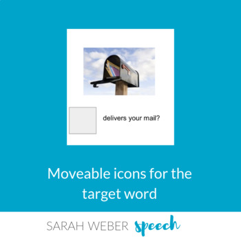 WHO helps- Interactive Core Vocabulary book