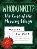WHODUNNIT? A Christmas Math Mystery