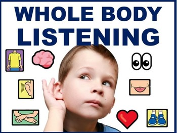 WHOLE BODY LISTENING PICTURE POSTERS AND CARDS