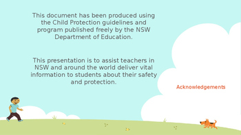 WHOLE UNIT - Child Protection Stage 2 - NSW Curriculum Aligned