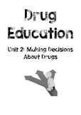 WHOLE UNIT DRUG EDUCATION Stage 3 - Unit 2 WORKBOOK