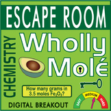 WHOLLY MOLE Escape Room (Breakout)~ -CHEMISTRY- All Digital Locks