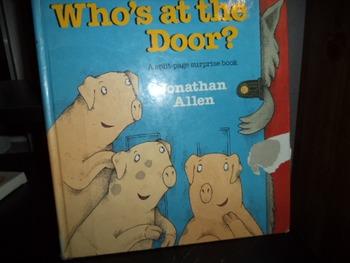 WHO'S AT THE DOOR?     isbn 0-688-12257-4