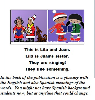 WHY LILA AND JUAN LIKE CHRISTMAS (CCSS, ONE IN A LILA AND JUAN SERIES)