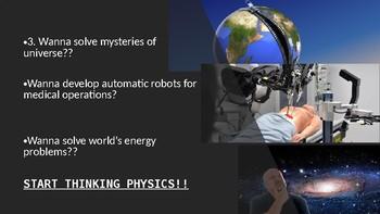 WHY TAKE PHYSICS