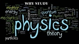 WHY TAKE PHYSICS