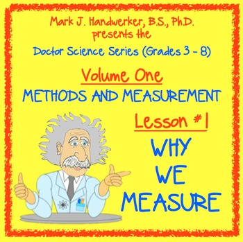 Lesson 1 - WHY WE MEASURE