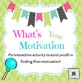 What's Your Motivation? Lesson Plan
