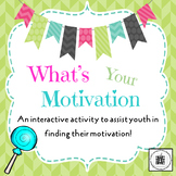 What's Your Motivation? Lesson Plan