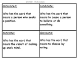 WHo Has Unit 2 Week 3 Vocab Game