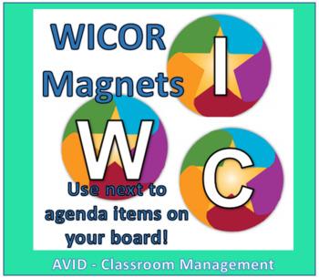 WICOR Agenda Magnets (AVID)