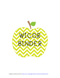 WICOR BINDER BUNDLE