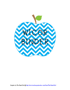 WICOR BINDER COVERS- only