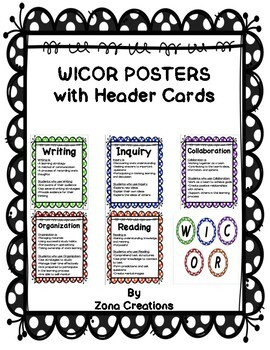 Polka Dot Themed WICOR Poster Displays