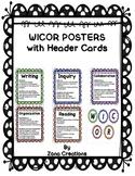 Polka Dot Themed WICOR Poster Displays