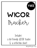WICOR Tracker & Reflection Sheet