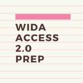 WIDA ACCESS Prep Checklist