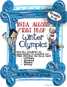 WIDA ACCESS for ELLs Test Prep: Winter Olympics