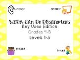 WIDA Can Do Key Uses Descriptors Levels 1 and 2 Grades 4-5