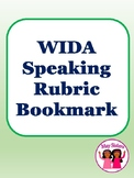 WIDA Speaking Rubric Bookmark