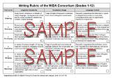 WIDA Writing Rubric Checklist