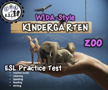 WIDA practice for KINDERGARTEN: ZOO