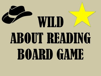 WILD ABOUT READING BOARD GAME