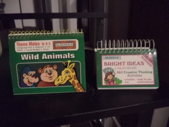 WILD ANIMALS   BRIGHT IDEAS CALENDAR    (SET OF 2)