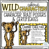 WILD About Character Zoo Animal Trait Posters & Award Cert