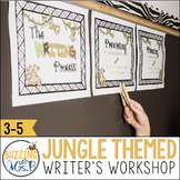 Jungle Safari Themed Writer's Workshop Pack, great for notebooks