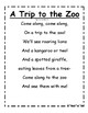 WILD About Zoo Animals Information Booklet
