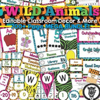 WILD Animals Theme