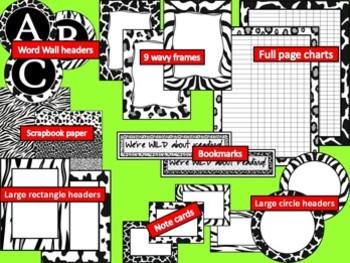 WILD THING! EDITABLE Classroom Decor Kit